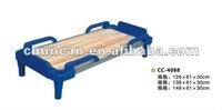 Children furniture kindergarten use baby bed plastic toddler beds