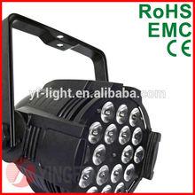 New RGB 3 in 1 /18PCS*9 W / indoor LED par lighting