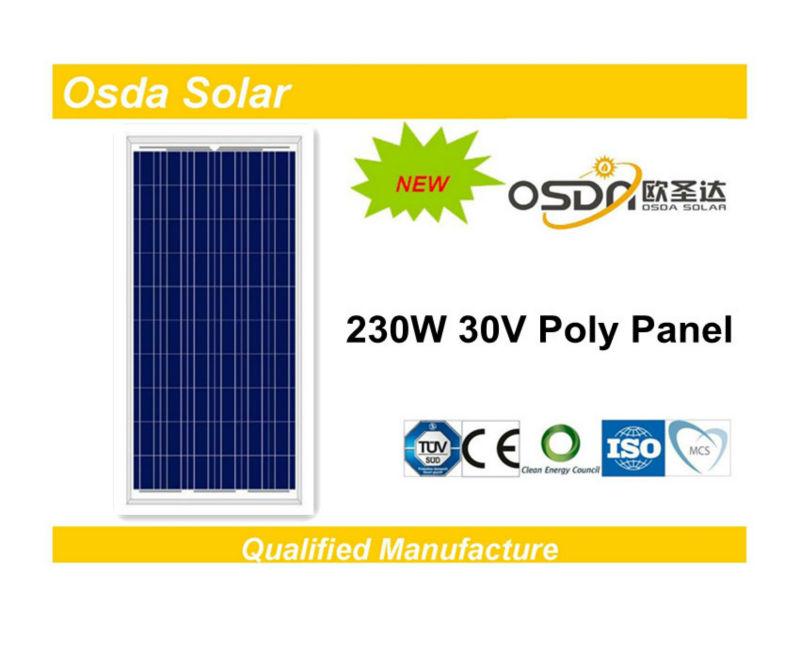ODA230-30-P 30V price per watt solar panels