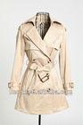 Long fancy woman trench coat