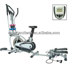 Multi-functional Orbitrac Elliptical Trainer with Steel Flywheel
