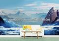 De belles montagnes et des rivières haute- classés murales wallpapers vente chaude