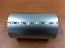 Unprinted aluminum lidding foil for yogurt cups packaging sealing with PS/PP