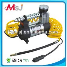 Metal car air compressor DC 12V air compressor,air pump tire inflator