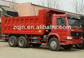 266hp howo carregamento frontal pesado caminhão de carga de areia