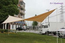 4*4 Quadrangle folding awning