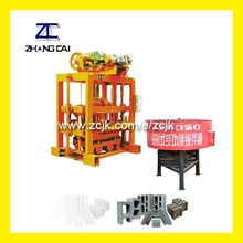 Concrete Brick Machine QTJ4-40II Cost-effective Building Material Producing Machine Equiped with Mixer