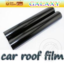 Glossy black car roof film solar window film 0.22mm and 1.35x15m