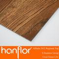 Fuerte recomendar fácil de instalar pegamento bricolaje hacia abajo vinilo pvc linóleo suelo tablón