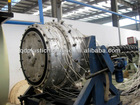 PE water and gas supply pipe plastic making machinery