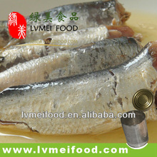 Canned Sardines in Vegetables Oil