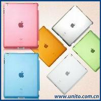 Smart Cover Compatible Companion Crystal PC Back Cover Case For iPad Mini
