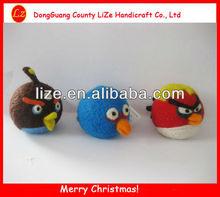 Christmas wool bird