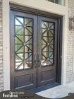 ornamental wrought iron front door FD-107