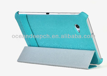 Leather cover case stand costum case for samsung tablet p3100 cover case