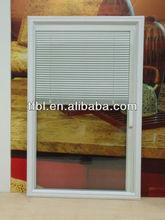 door glass with internal blinds