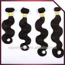 "2012 hot sale brazilian virgin hair ,08""-40"" Natrual color ,unprocessed virgin human hair"