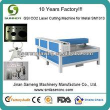 1.2mm açoinoxidável laser máquina de corte com 1313m reci tubo do laser ce fda com boa qualidade