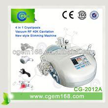 4 handle pieces Cryolipolisis slimming machine equipment