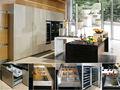 2013 fuente de alimentación personalizado de alto brillo de laca gabinetes de cocina --- ( de gama alta de calidad en el mercado )