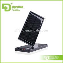 DIFUNG Patent design solar charger ipad with dual usb 4000mah capacity