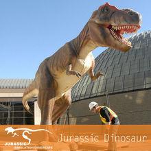 Foam Sculpture Dinosaur Model With Animatronic