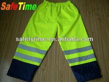 safety work waterproof pants reflective