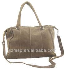 Real leather ladies shoulder bags