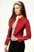 Cotton Denim Jacket HSC8112