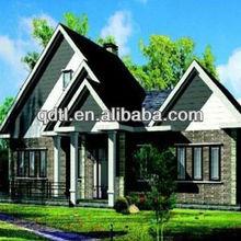Comfortable and peaceful prefabricated wooden/steel villa/villa