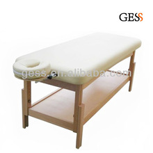Wooden Leg Stationary Massage Table
