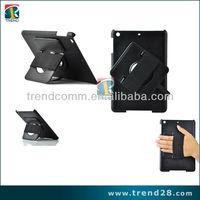 360 Degree Rotating PU leather case for ipad mini