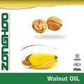 o óleo vegetal de óleo de noz de petróleo ao vivo
