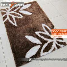 fashion grey shaggy carpet