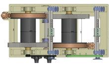 1050KN marine electric mooring winch