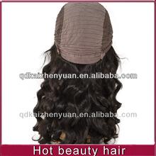 5A High densitybrazilian virgin human hair wigs for black women