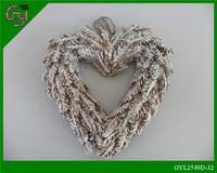 Home Decorative Heart shaped garlands/ Decorative garlands