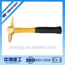 Non-sparking Aluminium Copper Alloy Hammer Testing Flat Tail