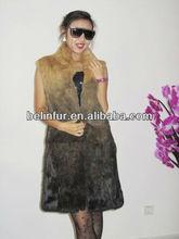 lady's rabbit fur vest 0288