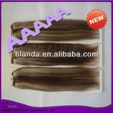 5a unprocessed virgin peruvian human hair hot 2014 blend color