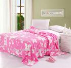 2013 Hot Sale Cheap Heavy Reversible TV Printed Coral Fleece Blanket