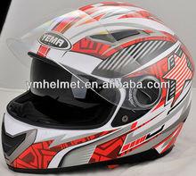 YM-826 double visor full face motorcycle helmet