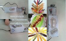 electric potato cutting machine / Automatic electric potato spiral cutter 0086-13523059163