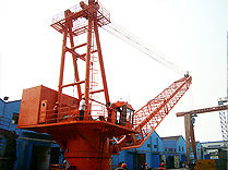 Wire Cable Offshore Platform crane