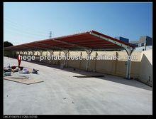 steel structure 3 car prefab garage
