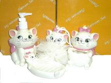 OEM 500ml vinly cartoon figure shampoo bottle cat