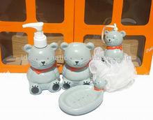 OEM 500ml vinly cartoon figure shampoo bottle koala