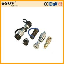 Ultra pressure hydraulic quick release coupling