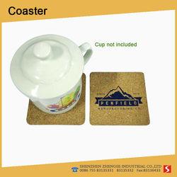 Hot sellings Marketing eco-friendly Cork Coaster