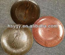 Decorative pp plastic plate